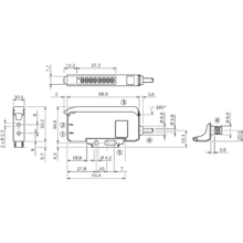 Lichtleiter-Sensor WLL180T
